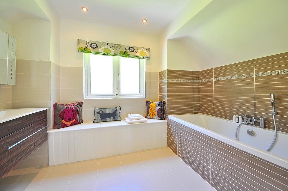 przestronna łazienka w każdym mieszkaniu